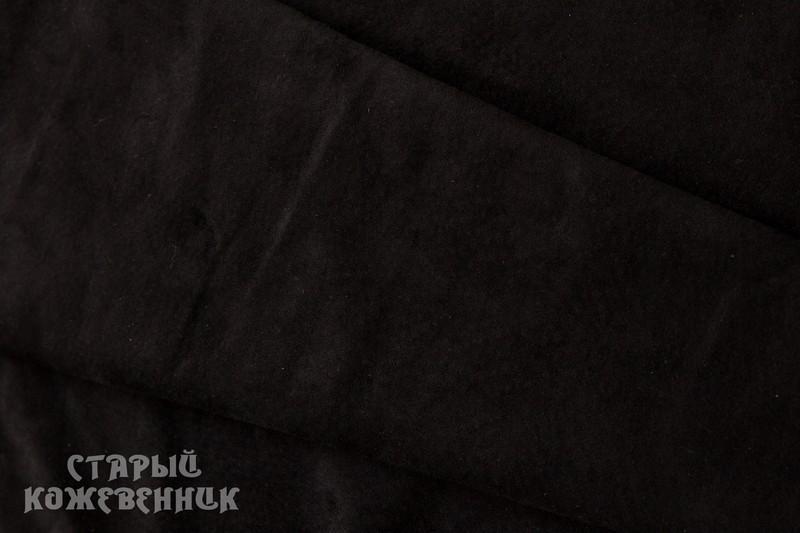 Кожа натуральная - Замш черный